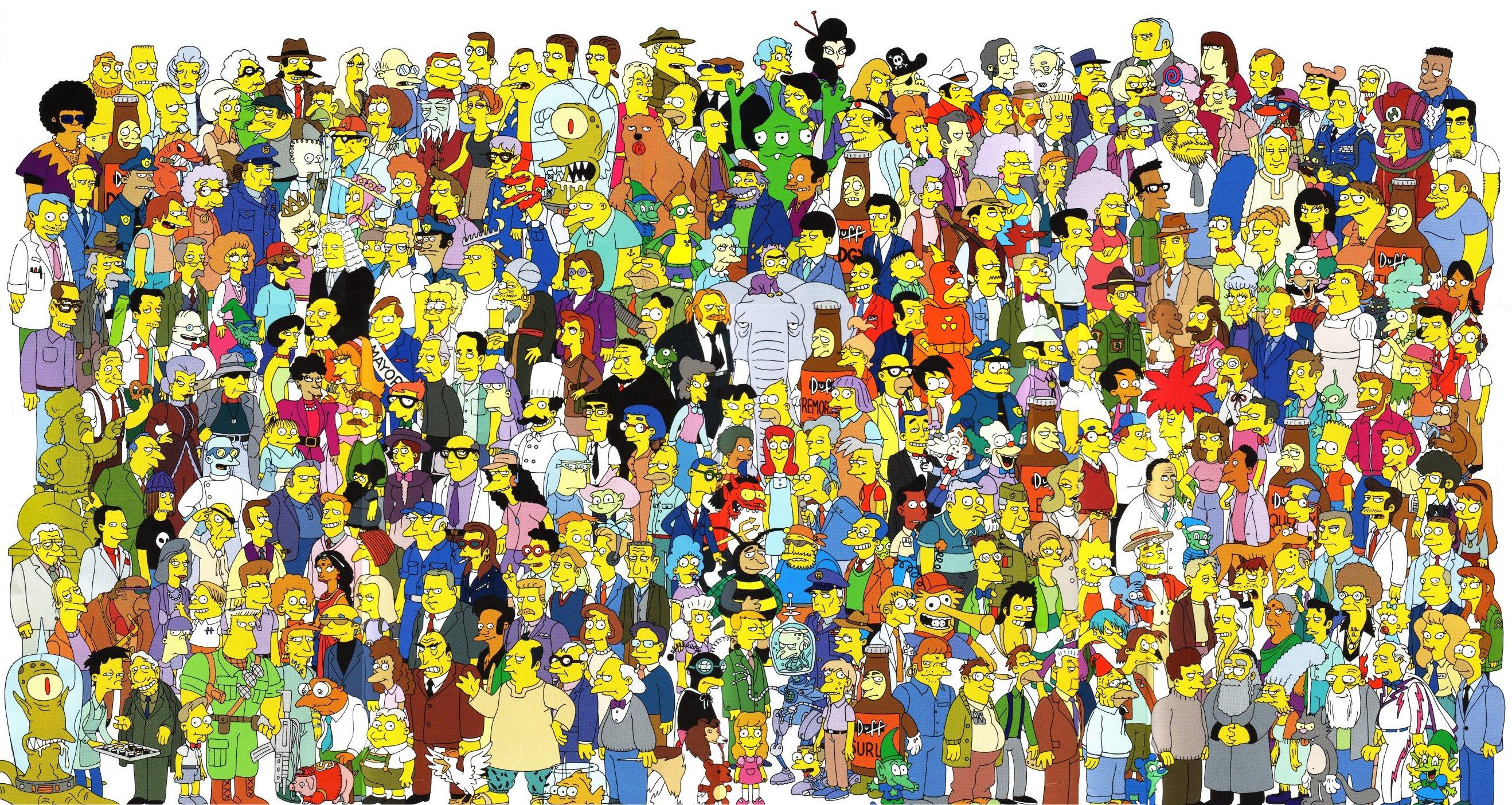 Los Simpsons Algunas Curiosidades que no sabias.