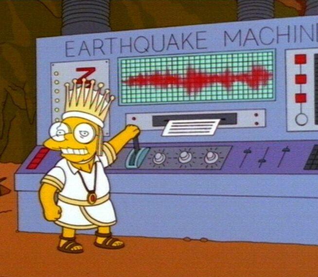 earthquack machine