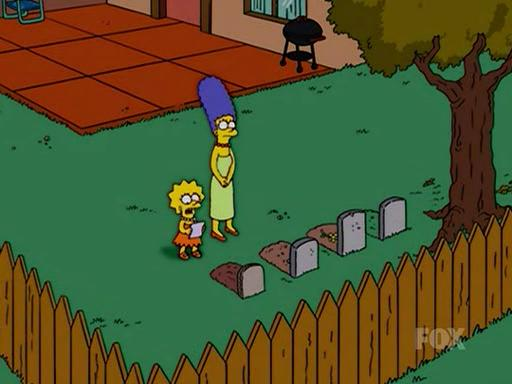 The Simpsons Lisa S Cats