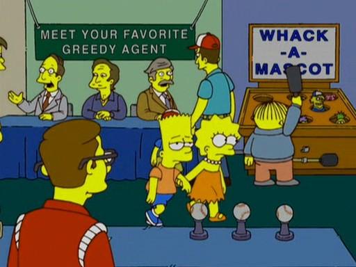 Edna Krabappel Bart Simpson